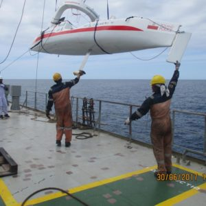Rudder repaired! Aleksander Doba back on his route in the Atlantic