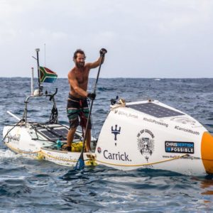 Solo Transatlantic SUP Crossing Completed