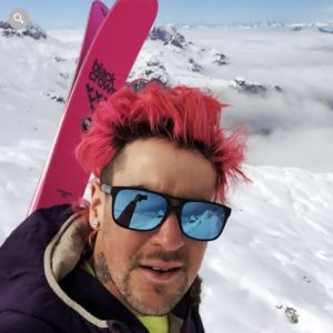 First descent of Caroline Face by Extreme Skiers