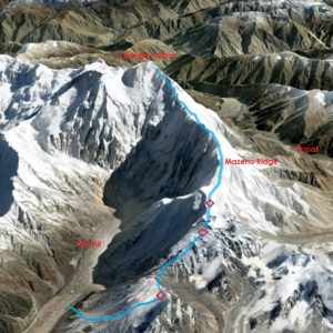 Nanga Parbat Mazeno Ridge Attempt, Kinshofer Route Summit-bid Thwarted and Karakoram Update