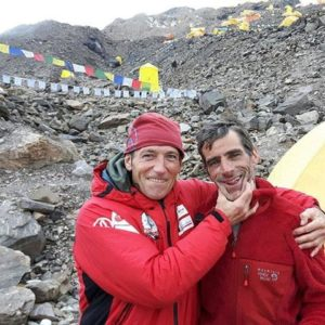 (Updated) Alberto Zerain, Mariano Galvan Missing on Mazeno Ridge, Avalanche at Tracker Location