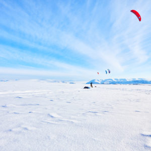 North Star Kite Alliance Expedition on Greenland a success