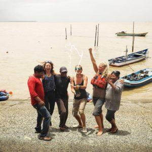Three British Women Complete Guyana River Paddle