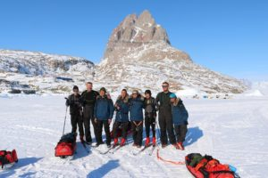 The expedition group