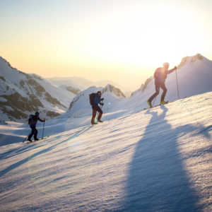 Team Skis Entire Length of the Alps