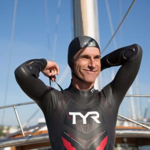 Benoit Lecomte attempts to swim the Pacific