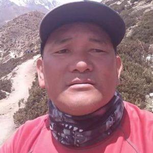 Pemba Sherpa Perishes in Crevasse