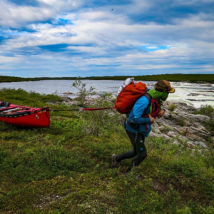 Frank Wolf Launches 1,800km Arctic Canoe Journey