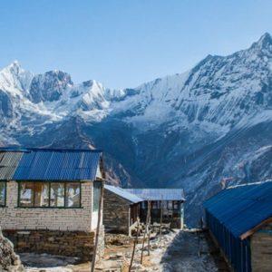Annapurna region trekking in Nepal