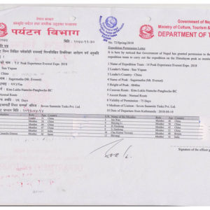 Himalayan trekking company fined in fake permit scam