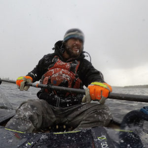 Justin Barbour on Wind, Snow and Upriver Canoe Travel