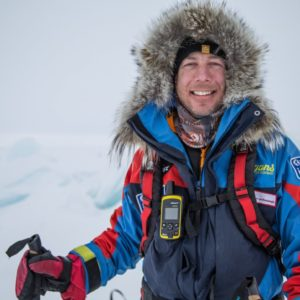 Eric Larsen Targets South Pole Speed Record