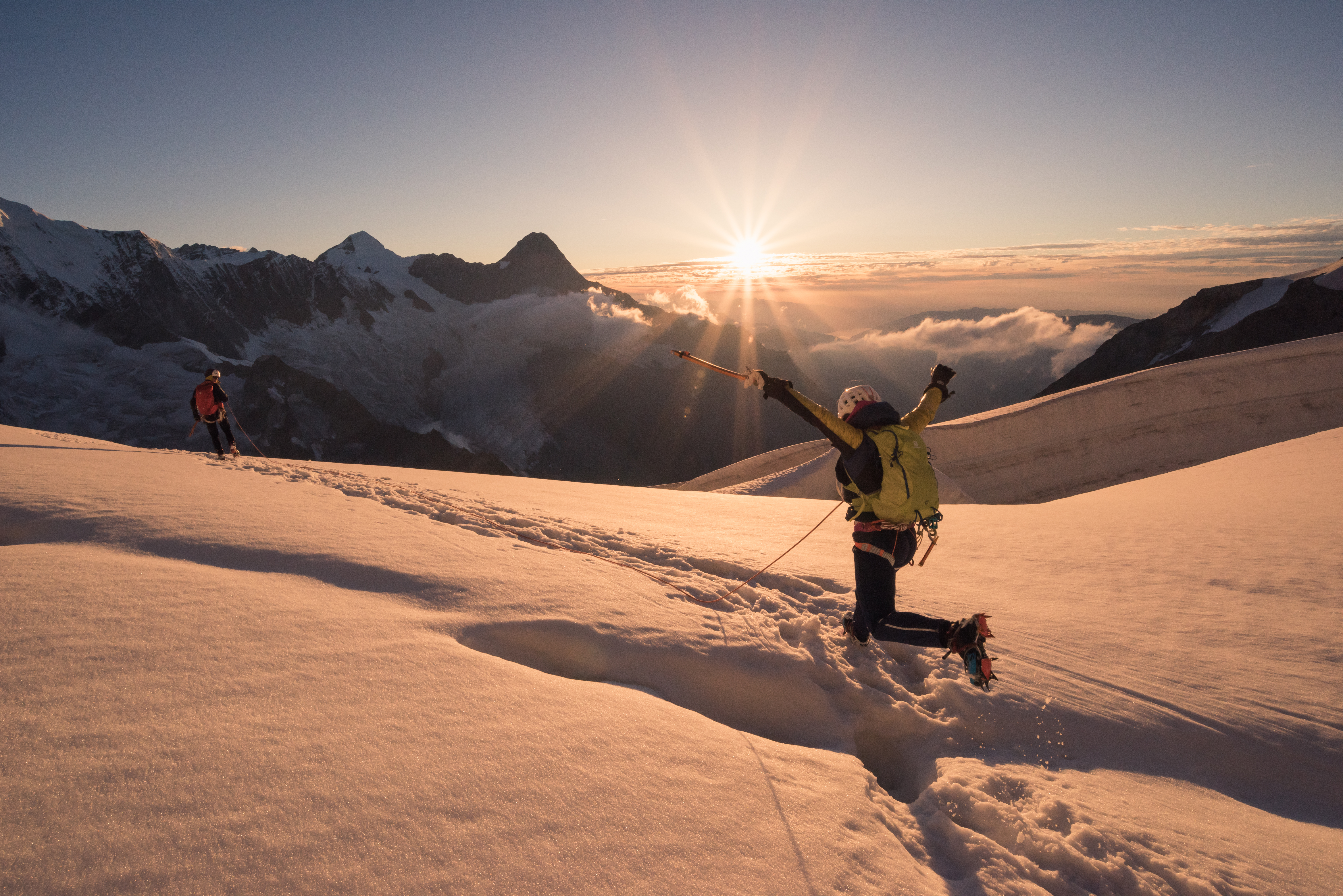 Liv Sansoz Jungfrau Monch Switzerland