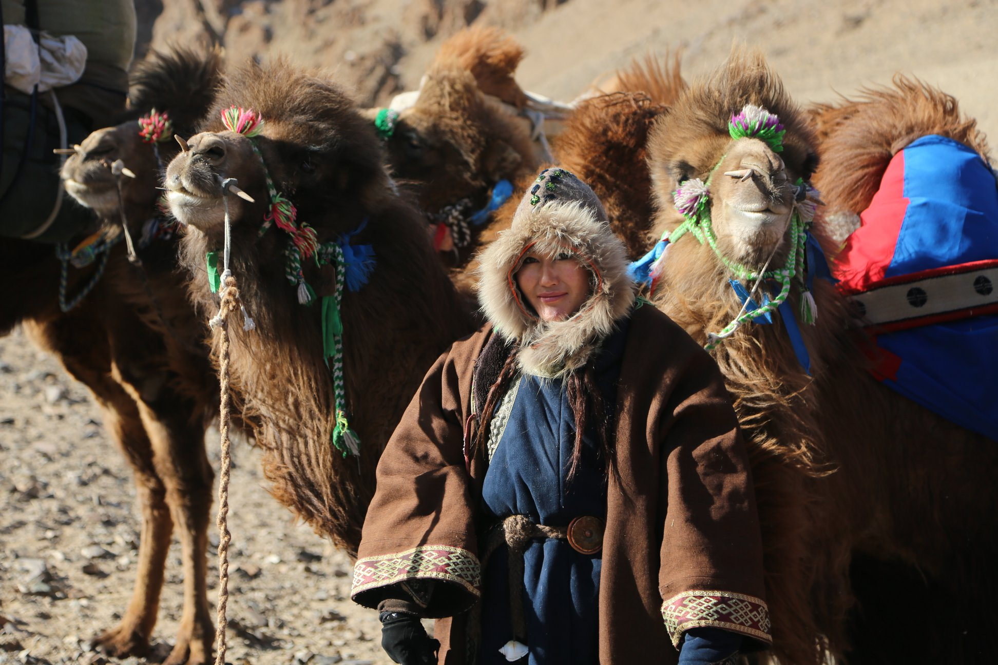 Woman Ulaangom