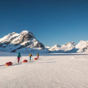 Weekend Warm-up: A Line in the Snow – Greenland