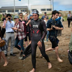 Lecomte Aborts Pacific Swim