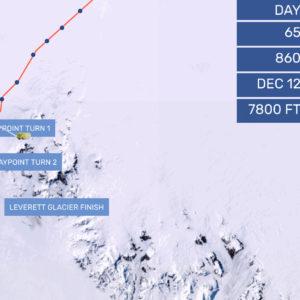 Update: Race Across Antarctica Nears the End