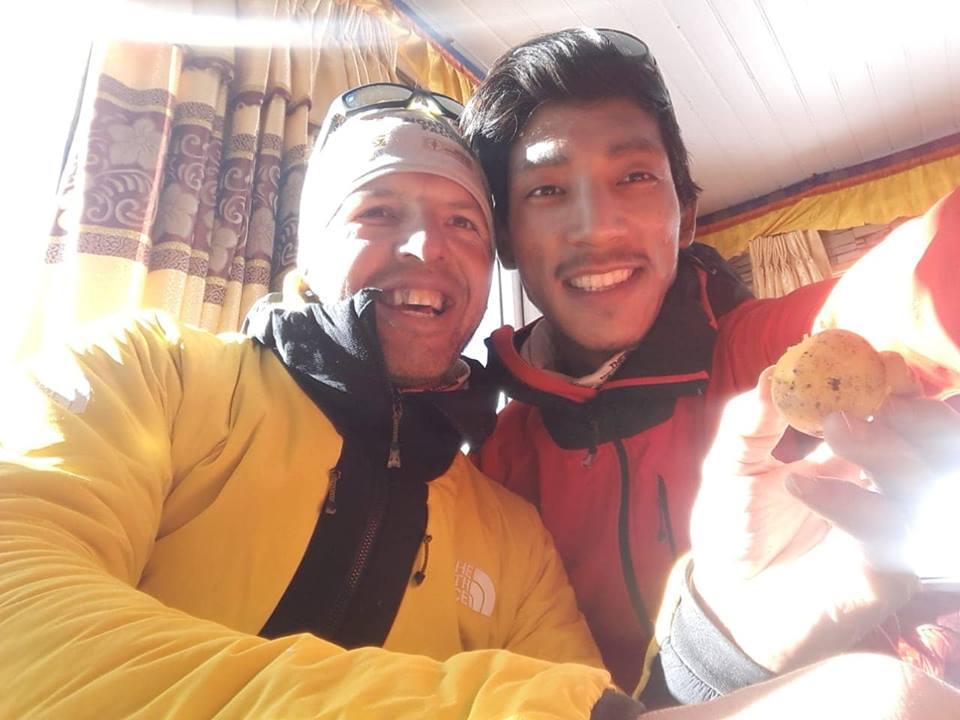 Simone Moro Pemba Gelje Sherpa