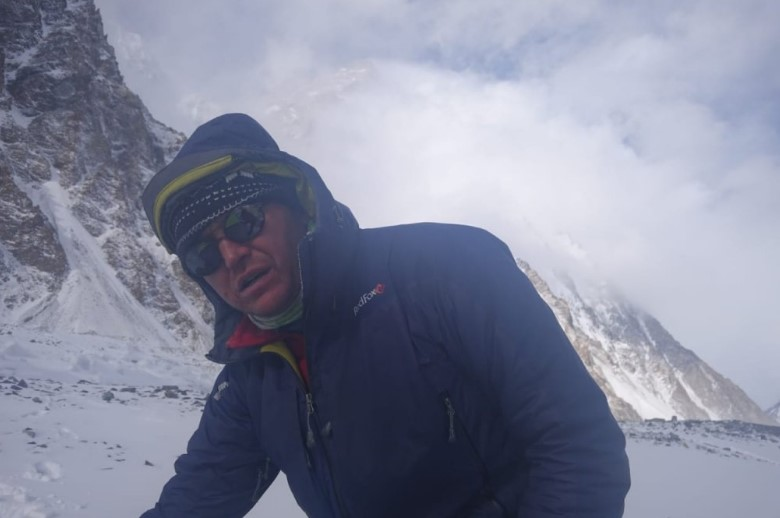 Vassiliy Pivtsov on winter K2, 2019