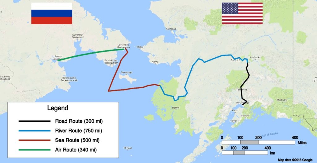 Alaska To Russia >> The Man Who Tried To Walk From Alaska To China