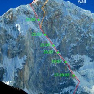 Russians Reach Crux on Jannu