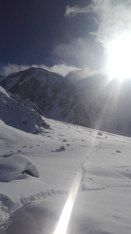 Nanga Parbat Base Camp in March 2019