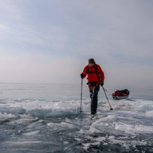 Baikal Wrap-up: A New Speed Record, and a Record for Most Unscheduled Swims