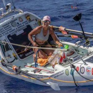 Dawn Wood Completes Atlantic Crossing