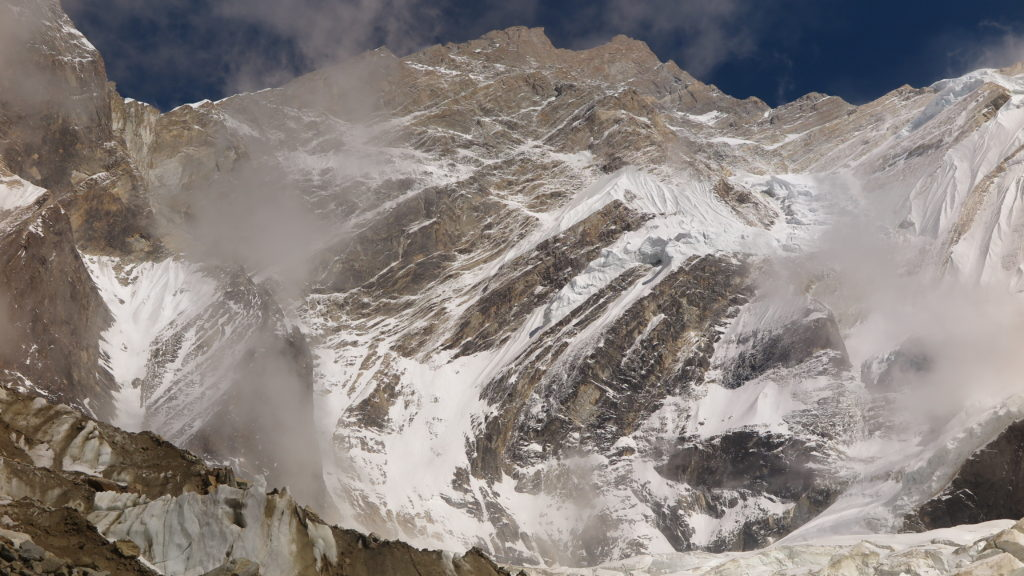Northwest face of Annapurna, Nepal Himalaya. Image by Adam Bielecki.