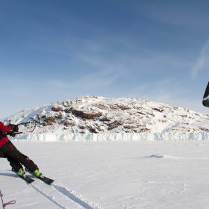 Kite-Skiing for Polar Travelers