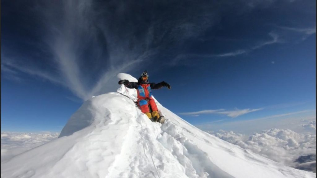 Last year, Mingote bagged Broad Peak, K2 and Manaslu (in the image).