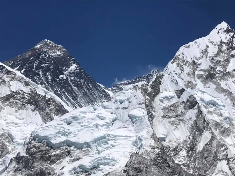 Everest summit pyramid
