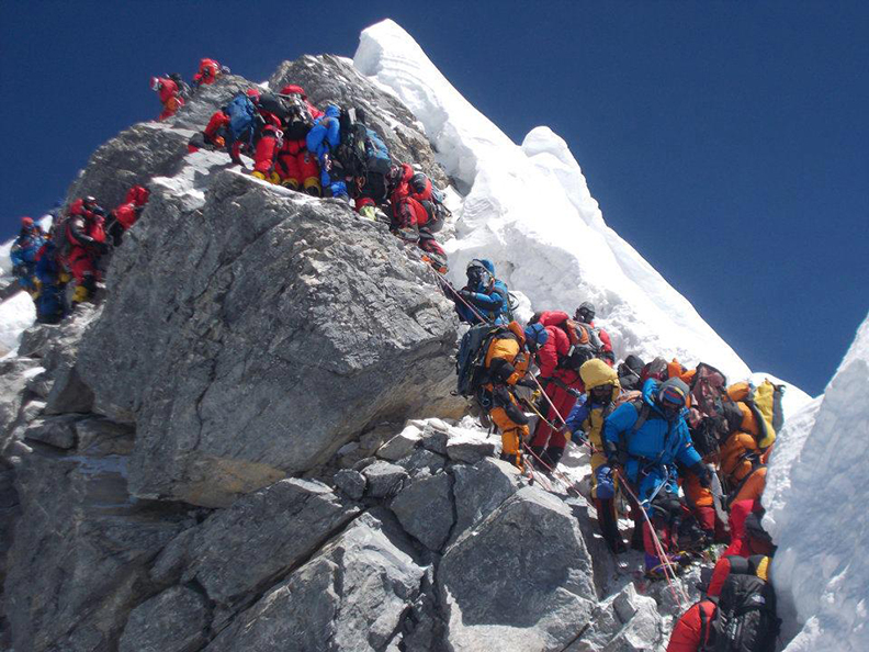 Traffic Jams on Everest: Ethical or Not?