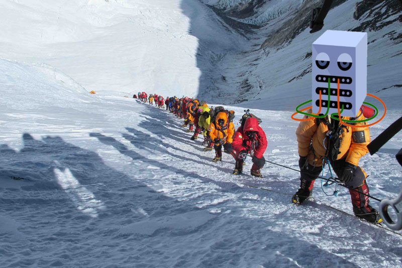 Server on Everest