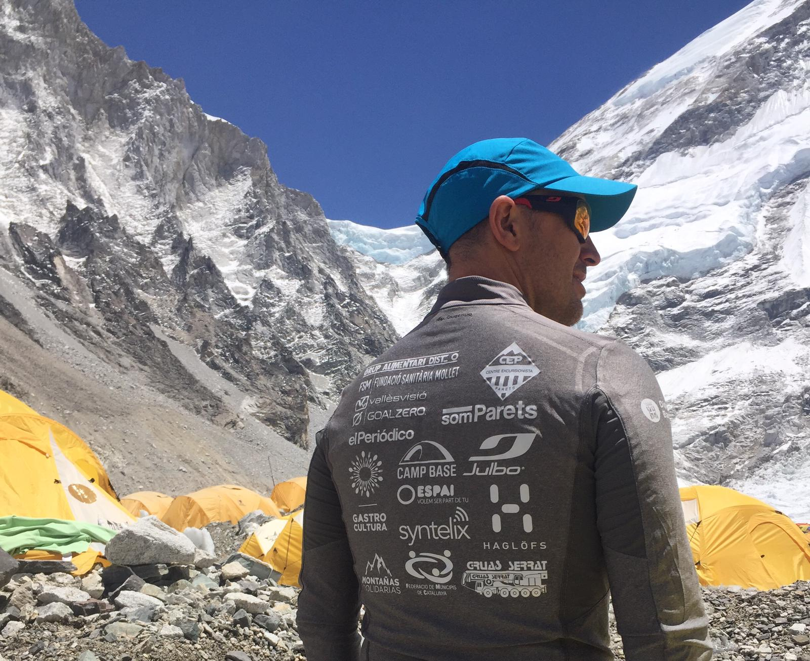 Sergi Mingote in Everest Base Camp