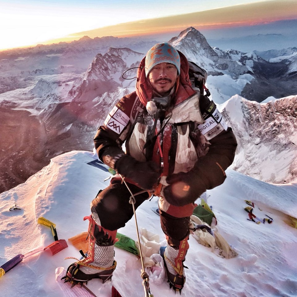 Nirmal Purja on Everest