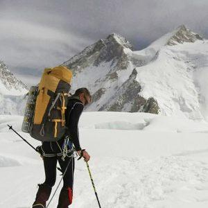 Urubko Begins New Gasherbrum Line