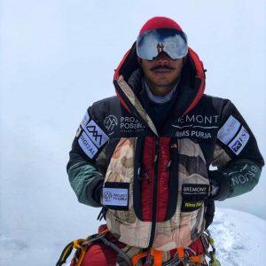 Breaking: Nirmal Purja Climbs Broad Peak