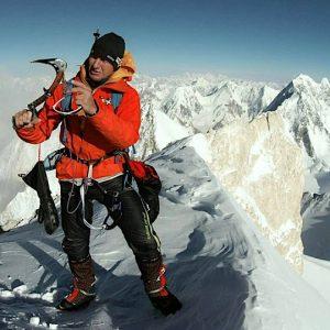 Urubko Goes It Alone on Gasherbrum II