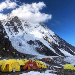 On K2, 120 Climbers Make Their Move