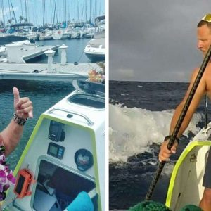 California to Hawaii in 76 days by Paddleboard