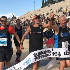 Done! Nick Butter Runs a Marathon in Every Country