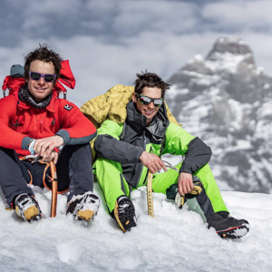Italian Pair Complete First Winter Linkage of Matterhorn and Grandes Murailles