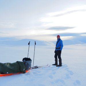 Crossing Iceland in Winter