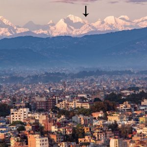 Stop the Presses! Everest Visible from Kathmandu