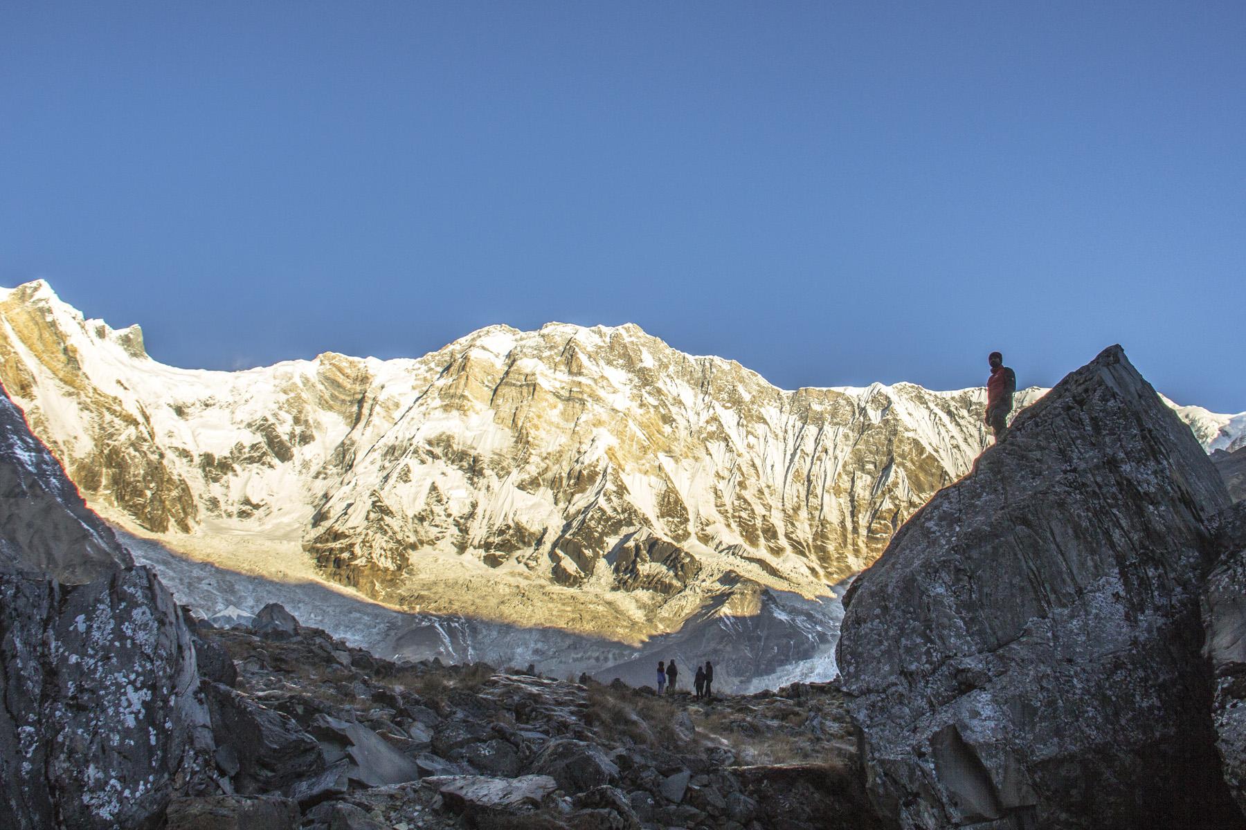Annapurna 10th Highest Mountain