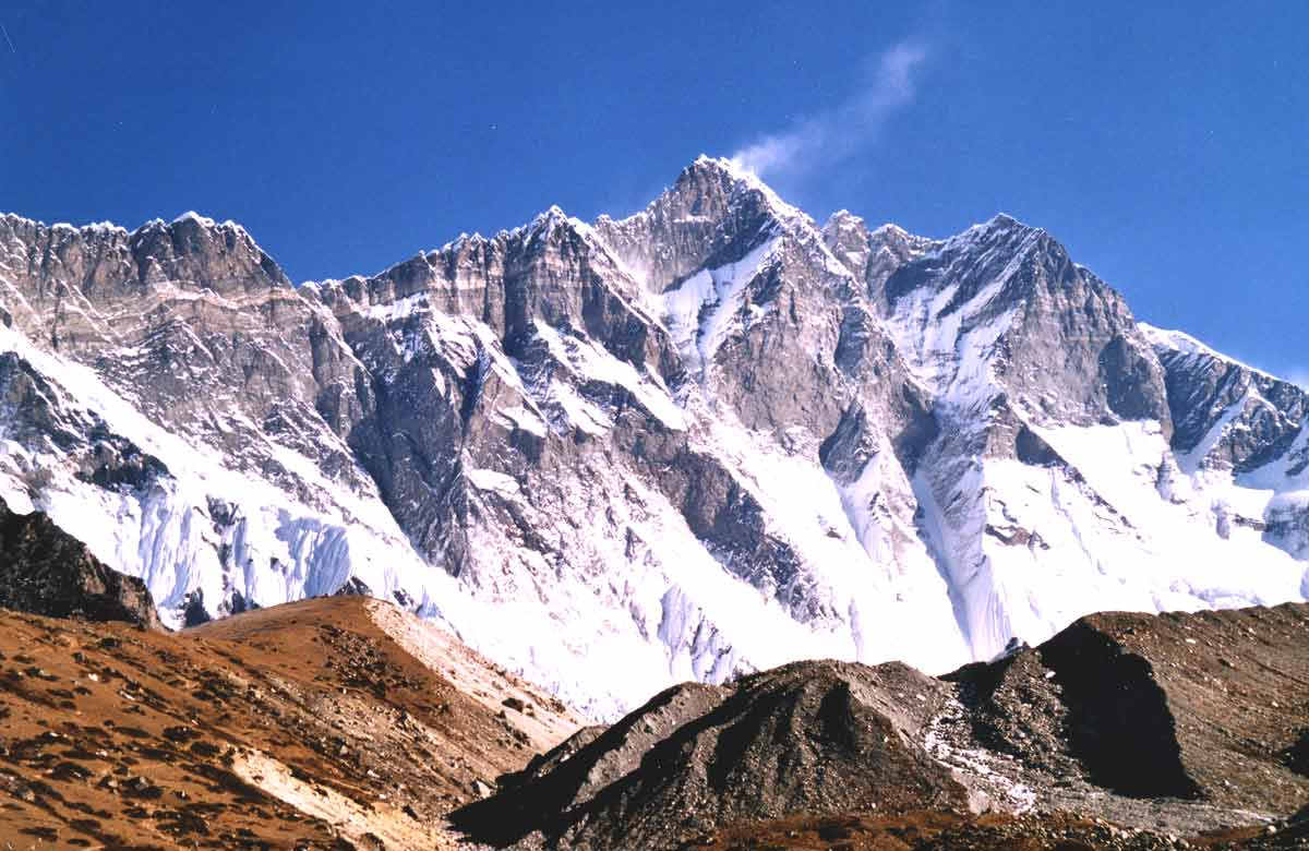 Lhotse 4th highest mountain