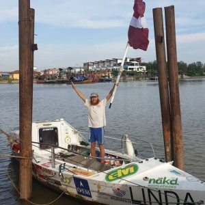 Karlis Bardelis: First Person to Row from South America to Asia
