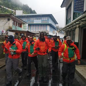 Bahrainis Start Toward Lobuche, Climbers on Baruntse and K6