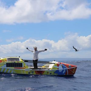 Lia Ditton Reaches Hawaii, Breaks Women's Record